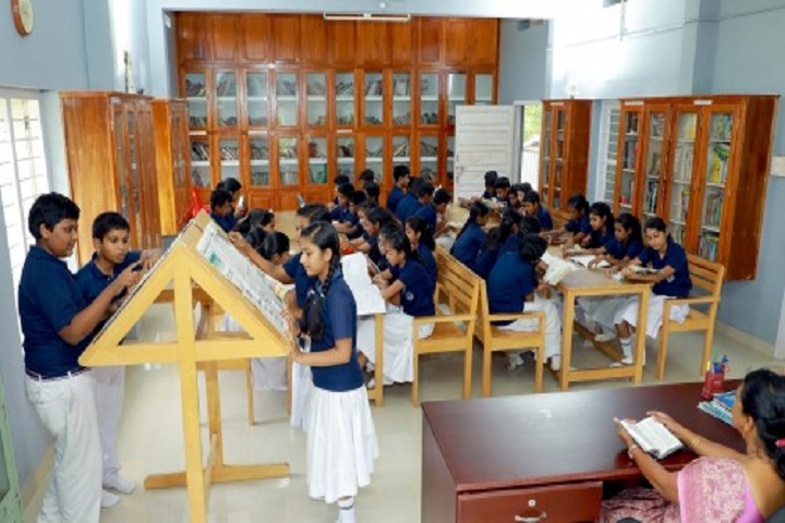 Bappuji Central School-Library