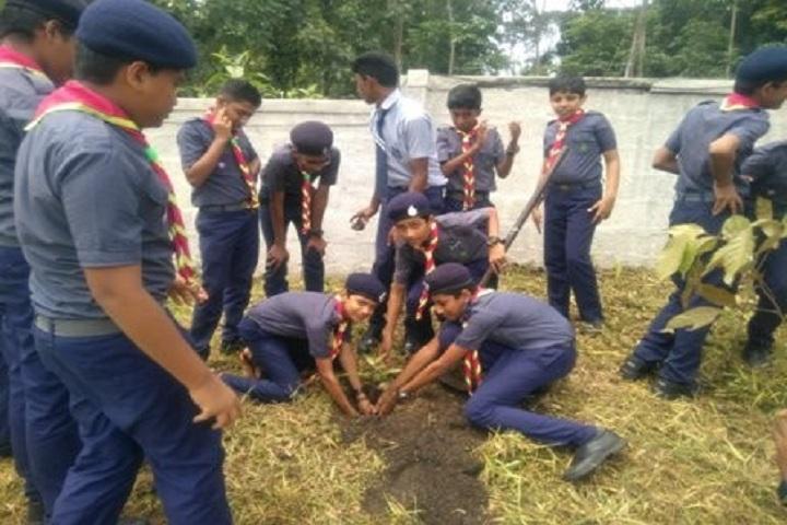 Bappuji Central School-Plantation