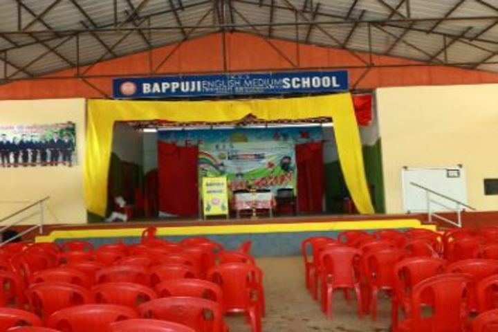 Bappuji English Medium School-Auditorium