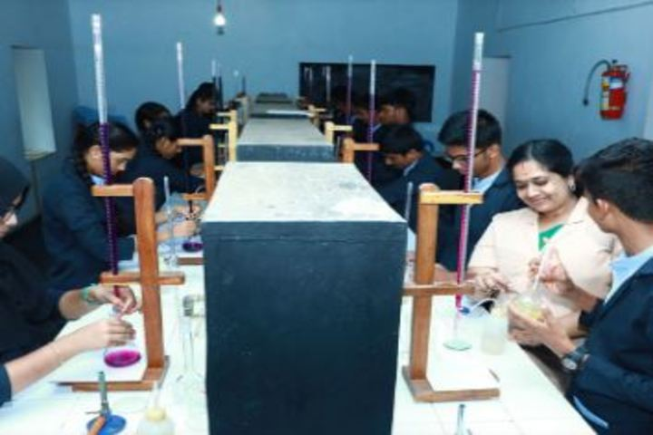 Bappuji English Medium School-Chemistry Lab