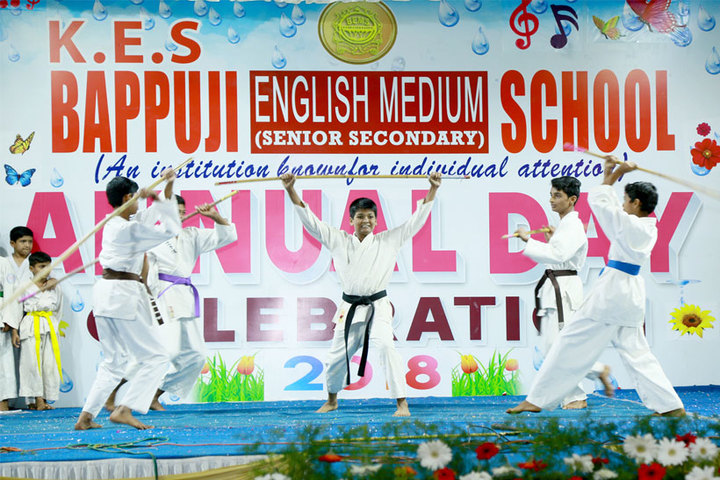 Bappuji English Medium School-Karate