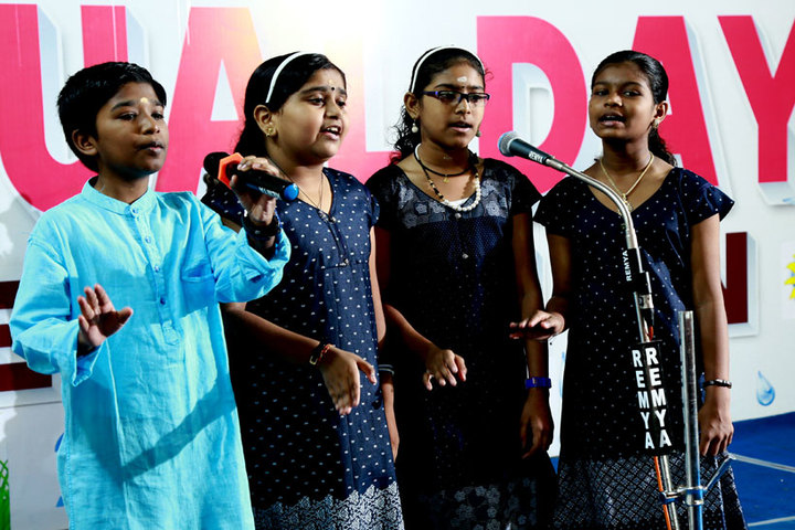 Bappuji English Medium School-Singing