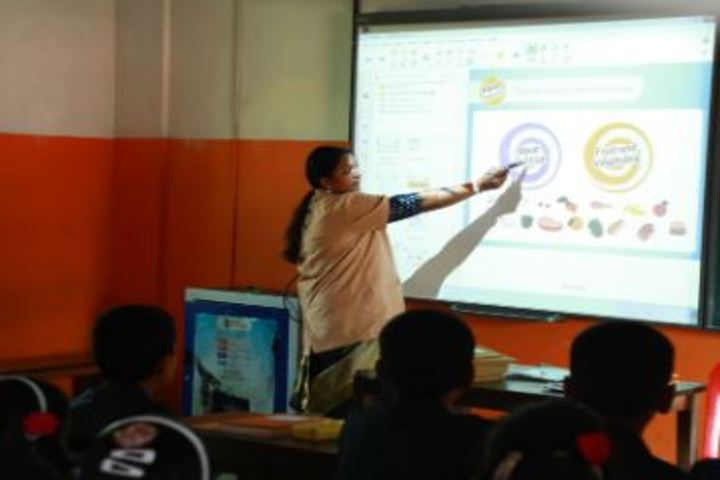 Bappuji English Medium School-Smart Classrooms