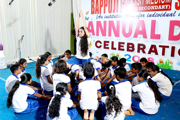 Bappuji English Medium School-Yoga