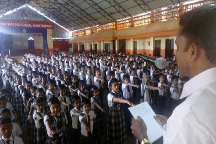 Bappuji English Medium School-Assembly