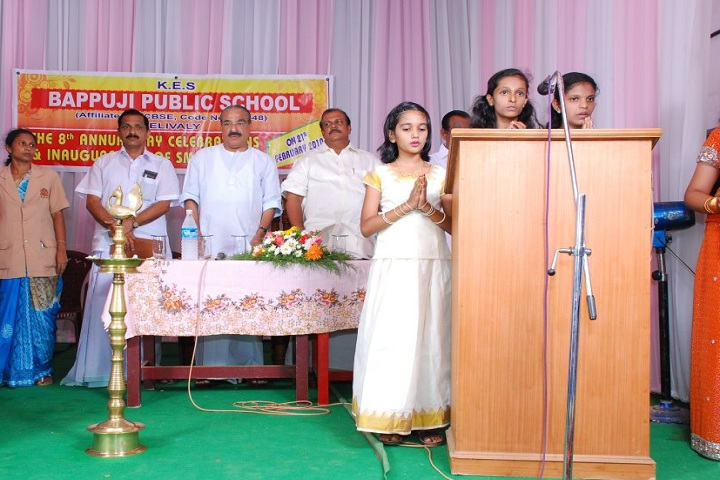 Bappuji Public School-Events