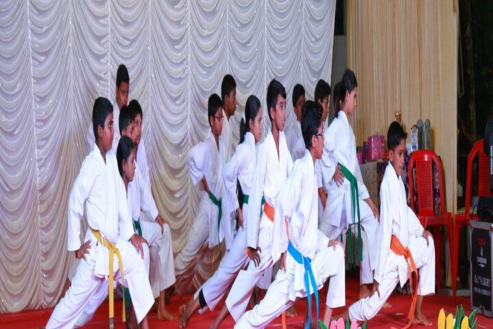Baselius Augen Public School-Karate