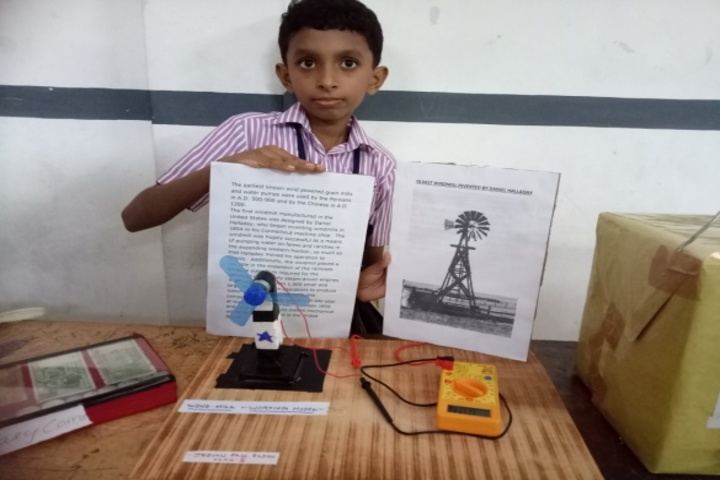 Baselius Augen Public School-Science Exhibition