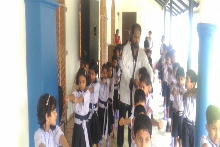 Baselios Vidyanikethan-Karate
