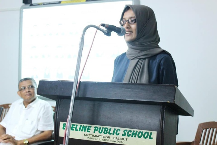 Bee Line Public School-Speech