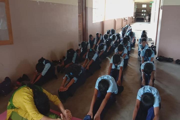 Believers Church English Medium School-Yoga Day