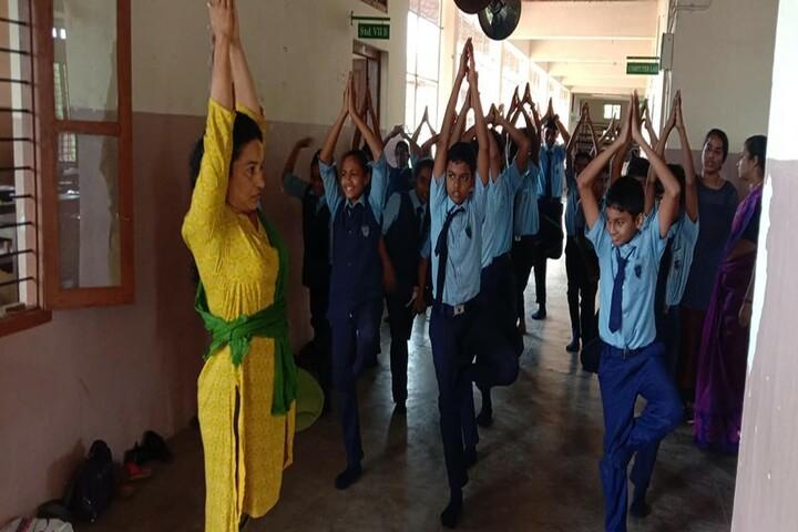 Believers Church English Medium School-Yoga