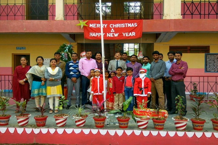 Kendriya Vidyalaya-New  year celebrations
