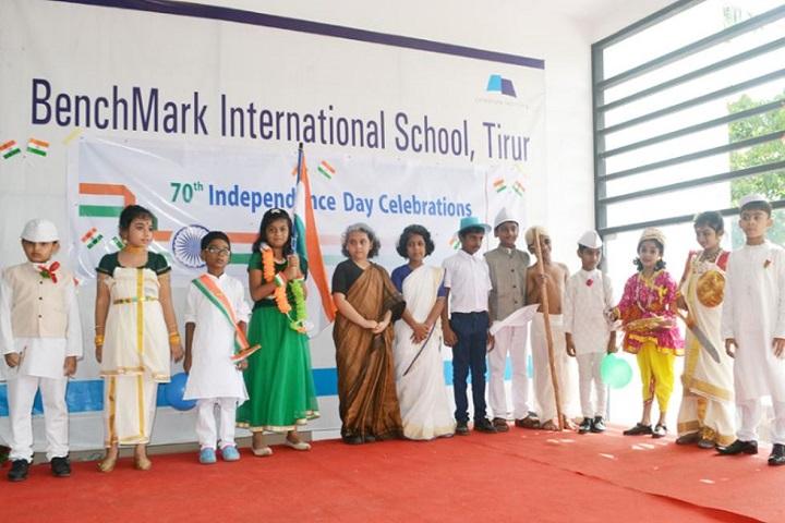 Benchmark International School-Independence Day Celebrations