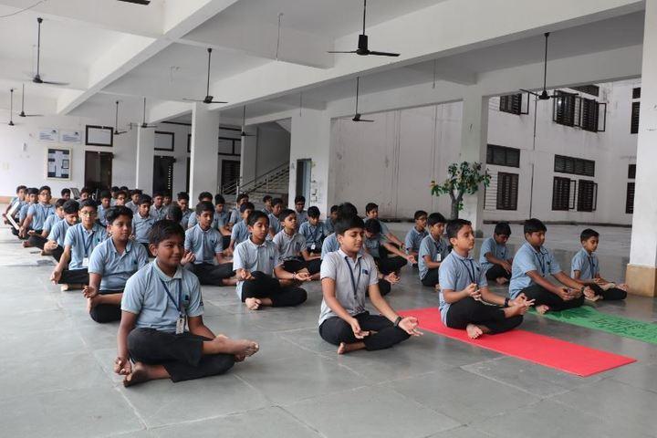 Benchmark International School-Yoga