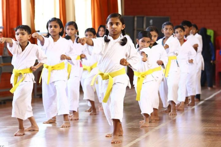 Benchmarks International School-Karate