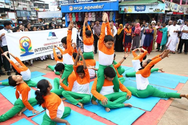 Benchmarks International School-Yoga Day