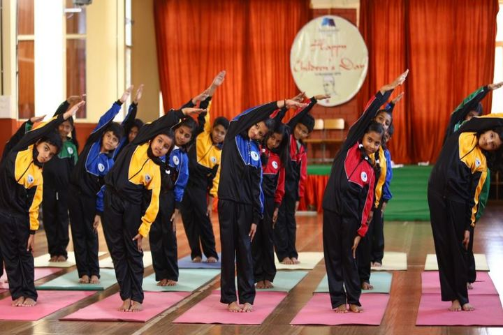 Benchmarks International School-Yoga