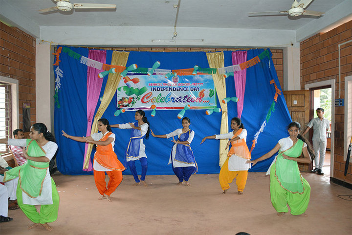 Benhill English School-Independence Day Dances