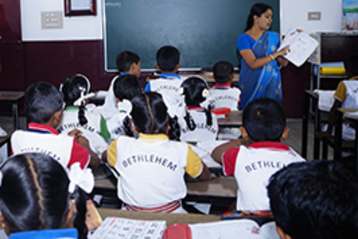 Bethlehem Community English Medium School-Classrooms