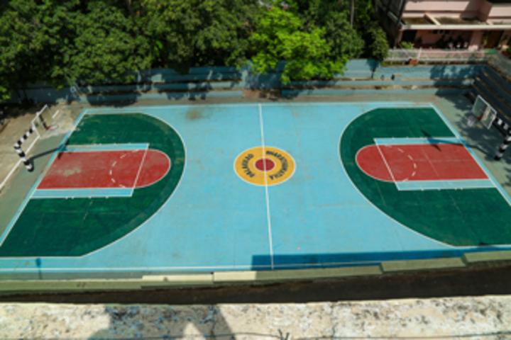 Bharathamatha Cmi Public School-Basket Ball Court