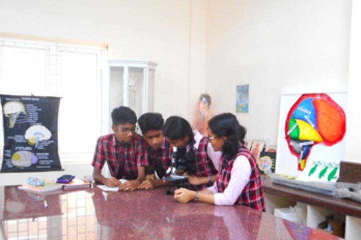 Bharathamatha Cmi Public School-Biology Lab