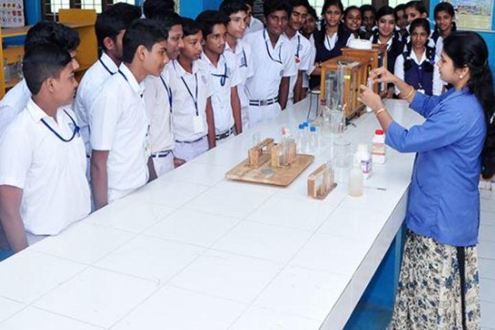Bharatheeya Vidya Vihar-Chemistry Lab