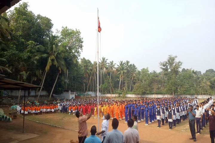 Bharatheeya Vidyapeedom Central School-Flag Hosting