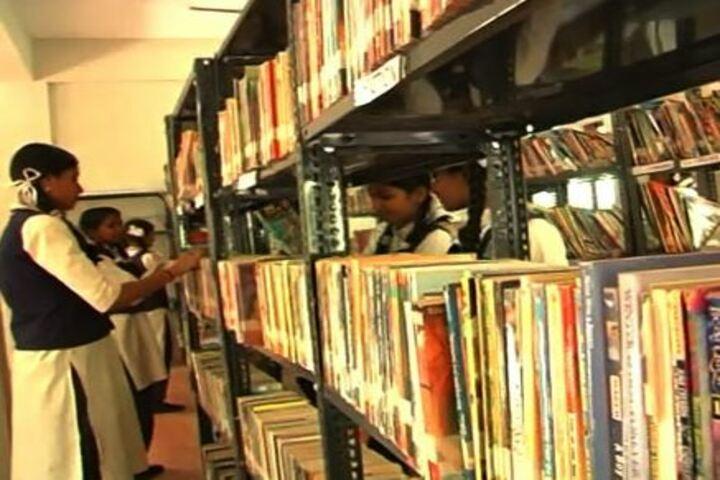 Bharatheeya Vidyapeedom Central School-Library