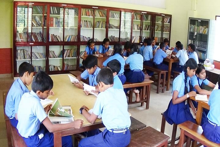 Bharathiya Vidya Bhavan School-Library