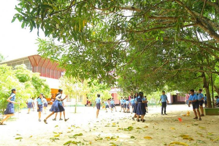 Bharathiya Vidya Bhavan School-School Compound