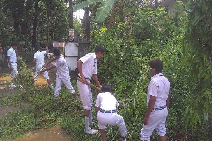 Bharathiya Vidya Bhavan School-Swatch Bharath