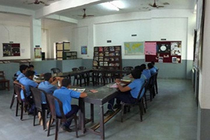 Bharatiya Vidya Bhavan School-Library