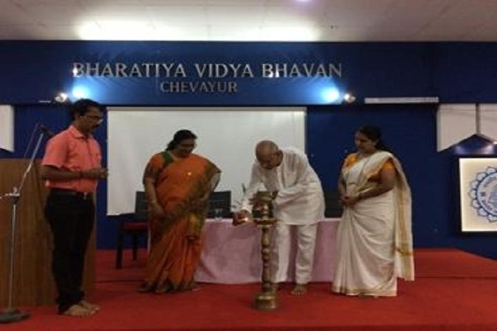 Bharatiya Vidya Bhavan School-Light Lamping