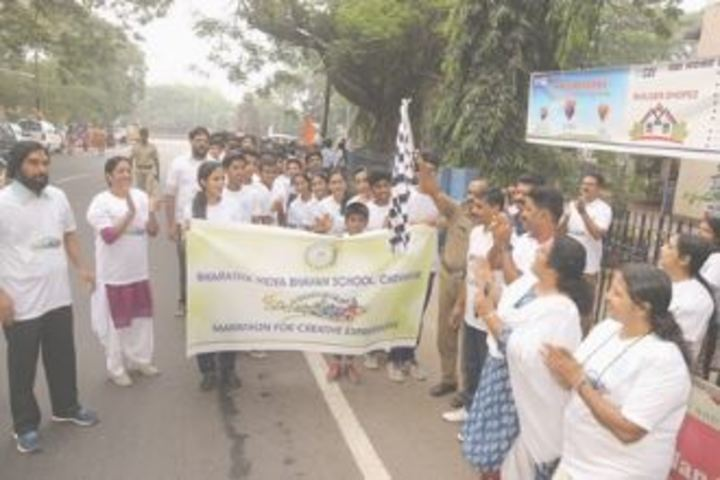 Bharatiya Vidya Bhavan School-Marathon