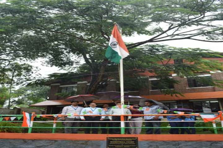 Bharatiya Vidya Bhavan Senior Secondary School-Flag Hosting