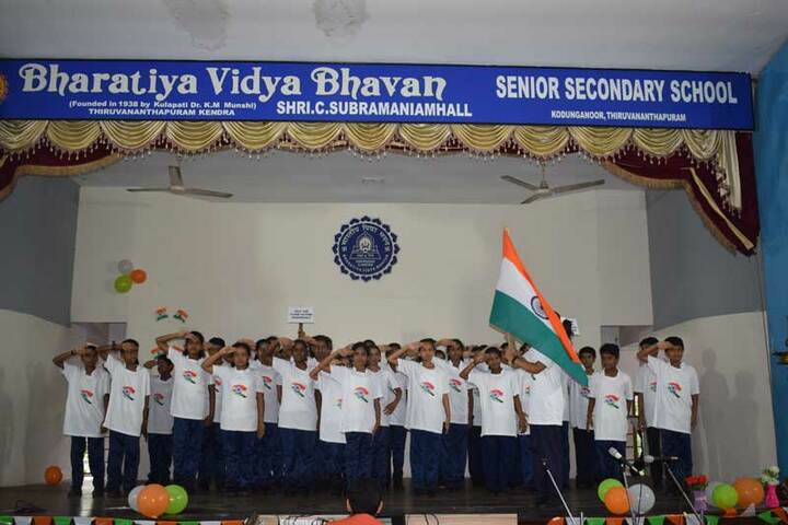 Bharatiya Vidya Bhavan Senior Secondary School-Independence Day