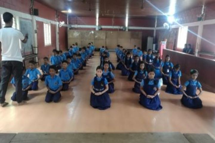 Bharatiya Vidya Bhavans School-Yoga Day