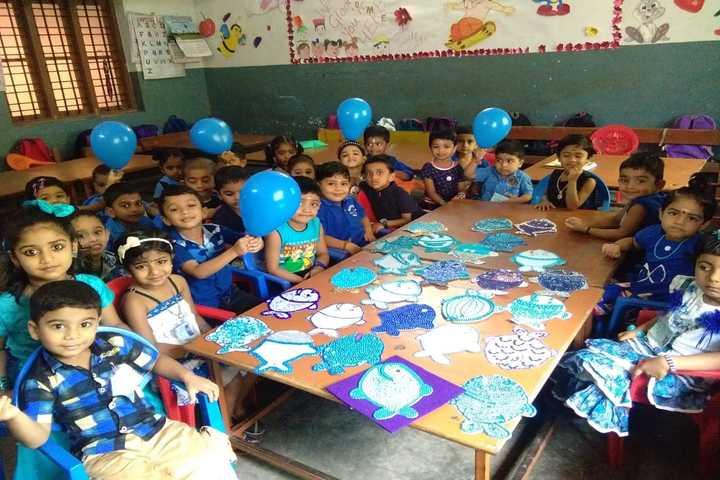 Bhavans Vidya Mandir-Blue Day
