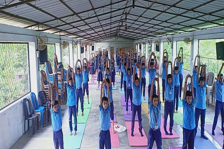 Bhavans Vidya Mandir-Excersises