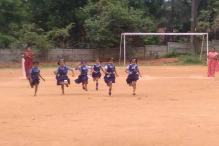 Bhavans Vidya Mandir-Running Race