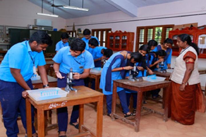 Bhavans Adarsh Vidyalaya-Biology Lab