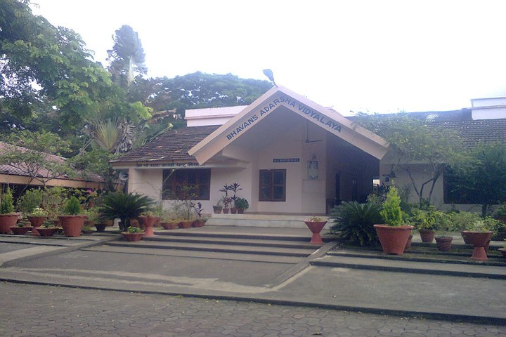 Bhavans Adarsh Vidyalaya-Schoo Building