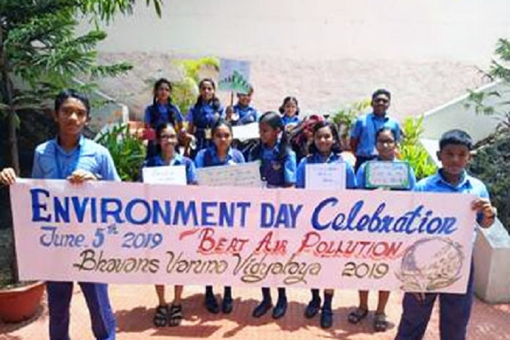Bhavans Varuna Vidyalaya-World Environmental Day