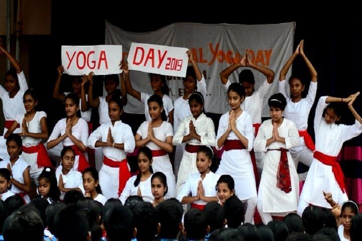 Bhavans Vidya Mandir-Yoga Day