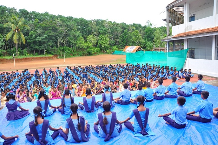 Bhavans Vidya Mandir-International Yoga day