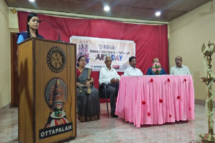 Bhavans Vidyalaya Ottapalam-Arts Day