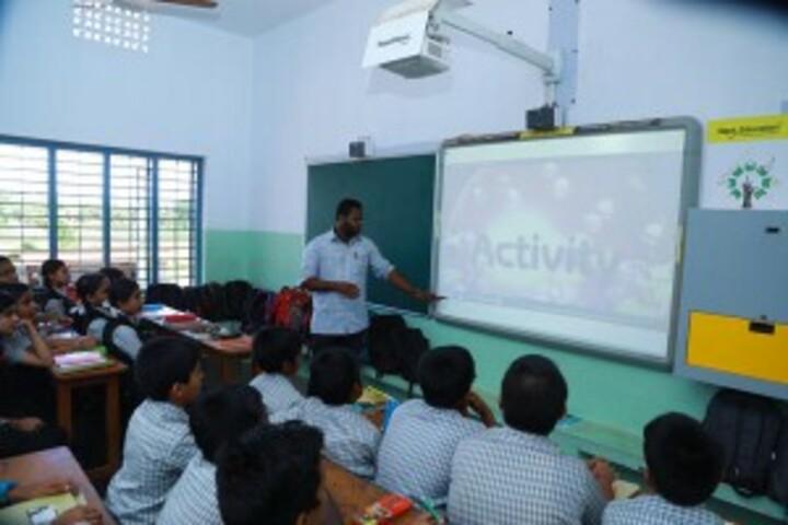 Bishop Kurialacherry Public School-Smart Classroom