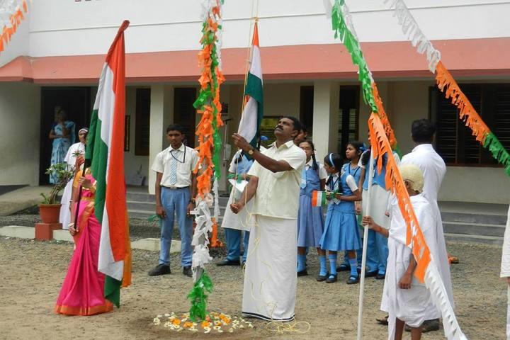 BSMM Nirmala English Medium School-Flag Host