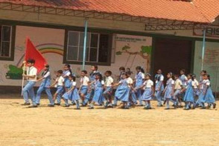 BSMM Nirmala English Medium School-March Past